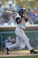 June 24 2007: Antoan Richardson of the San Jose Giants bats against the Inland Empire 66'ers at Arrowhead Credit Union Park in San Bernardino,CA.  Photo by Larry Goren/Four Seam Images