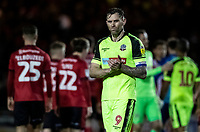 Bolton Wanderers' Daryl Murphy applauds his side's travelling supporters at the end of the match  <br /> <br /> Photographer Andrew Kearns/CameraSport<br /> <br /> The EFL Sky Bet League One - Lincoln City v Bolton Wanderers - Tuesday 14th January 2020  - LNER Stadium - Lincoln<br /> <br /> World Copyright © 2020 CameraSport. All rights reserved. 43 Linden Ave. Countesthorpe. Leicester. England. LE8 5PG - Tel: +44 (0) 116 277 4147 - admin@camerasport.com - www.camerasport.com