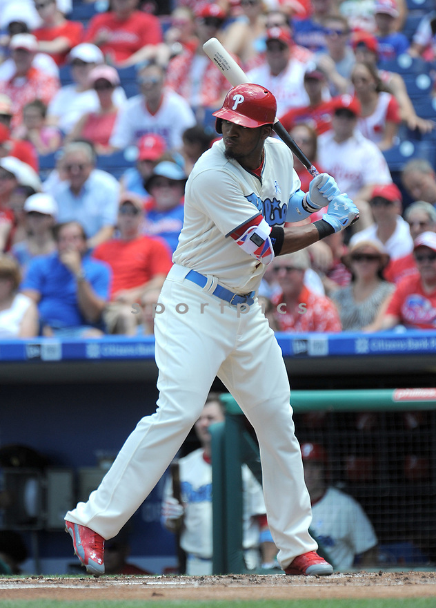 Philadelphia Phillies Jimmy Parades (41) during a game against the Arizona Diamondbacks on June 19, 2016 at Citizens Bank Park in Philadelphia, PA. The Diamondbacks beat the Phillies 3-1.