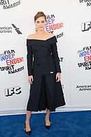 SANTA MONICA, CA - MARCH 3: Zoey Deutch at the 2018 Film Independent Spirit Awards in Santa Monica, California on March 3, 2018. <br /> CAP/MPI/SR<br /> &copy;SR/MPI/Capital Pictures