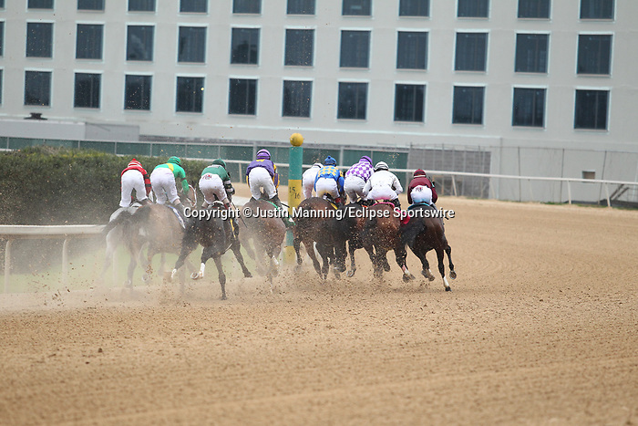 February 17, 2020: The start of the Southwest Stakes at Oaklawn Racing Casino Resort in Hot Springs, Arkansas. ©Justin Manning/Eclipse Sportswire/CSM