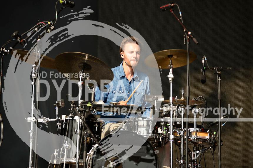 Malky live auf dem Melt! Festival 2015 im Ferropolis. Gräfenhainchen, 18.07.2015