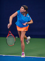 Hilversum, The Netherlands, March 12, 2016,  Tulip Tennis Center, NOVK, Franny van Opstal (NED)<br /> Photo: Tennisimages/Henk Koster