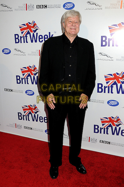 Martin Jarvis.BritWeek 2012 Official Launch held at a Private Residence, Los Angeles, California, USA..April 24th, 2012.full length suit black  .CAP/ADM/BP.©Byron Purvis/AdMedia/Capital Pictures.