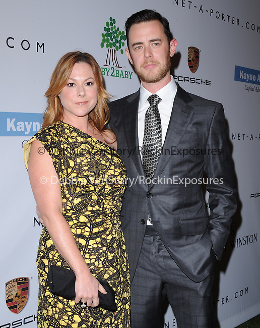 Molly SimsCULVER CITY, CA - NOVEMBER 09: Colin Hanks arrives at  The 2nd Annual Baby2Baby Gala held at The Book Bindery  in Culver City, California on November 09,2012                                                                               © 2013 Hollywood Press Agency