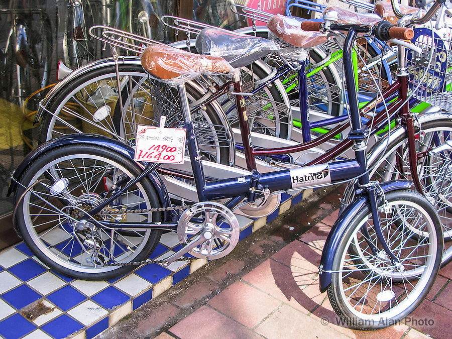 Hatchet Bike in Ota, Japan 2014.