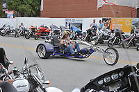 NWA Democrat-Gazette/MICHAEL WOODS &bull; @NWAMICHAELW<br /> 16th annual Bikes Blues and BBQ on Dickson Street  in Fayetteville Wednesday September 23, 2015