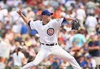 Michael Wuertz of the Chicago Cubs vs. the San Diego Padres: June 18th, 2007 at Wrigley Field in Chicago, IL.  Photo by Mike Janes/Four Seam Images