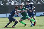 07.01.2018, San Pedro del Pinatar, Pinatar Arena, ESP, FSP FC Twente Enschede (NED) vs Werder Bremen (GER), im Bild<br /> <br /> #Hidde ter Avest (FC Twente Enschede)<br /> Max Kruse (Werder Bremen #10)<br /> Danny Holla (FC Twente Enschede)<br /> Foto &copy; nordphoto / Kokenge