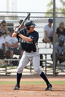 Ethan Paquette #21 of the Seattle Mariners plays in a minor league spring training game against the San Diego Padres at the Padres minor league complex on March 19, 2011  in Peoria, Arizona. .Photo by:  Bill Mitchell/Four Seam Images.