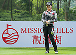 Yea Lin Kang of Korea in action during the Hyundai China Ladies Open 2014 Pro-am on December 10 2014, in Shenzhen, China. Photo by Xaume Olleros / Power Sport Images