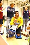 ROTTERDAM  - NK Nacompetitie Zaalhockey .  speler coach Laurens Goedegebuure (KZ)  COPYRIGHT KOEN SUYK