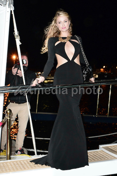 21 May 2015 - Cannes, France - Paris Hilton. Galaxy Yacht Party at the Marina during The 68th Annual Cannes Film Festival. Photo Credit: Timm/face to face/AdMedia