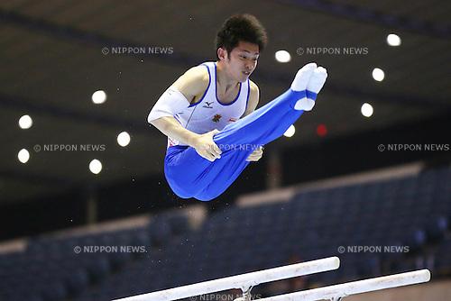 Kazuhito Tanaka (JPN), .May 4, 2012 - Artistic gymnastics : .The 51st NHK Cup, Men's Individual All-Around 1st Day .at Yoyogi 1st Gymnasium, Tokyo, Japan. .(Photo by Daiju Kitamura/AFLO SPORT) [1045]