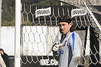 SÃO PAULO, SP, 12.07.2016 - FUTEBOL- CORINTHIANS - Cassio durante treino do Corinthians no CT Joaquim Grava na região leste da cidade de São Paulo nesta terça-feira, 12 (Foto: Ale Meirelles/Brazil Photo Press)