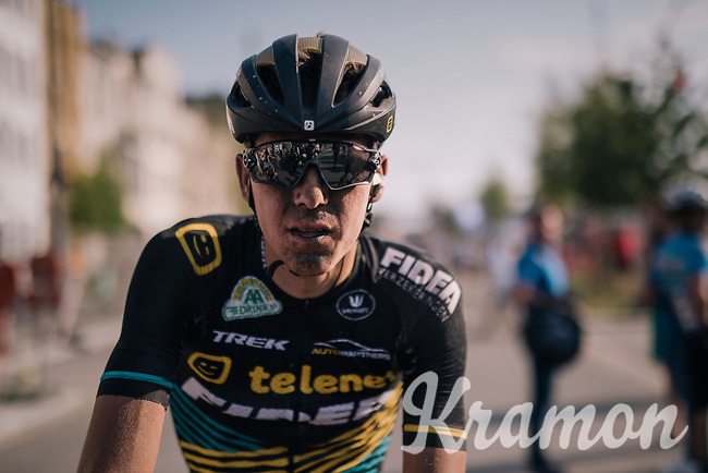 """Nicolas Cleppe's (BEL/Telenet Fidea Lions) post-race face<br /> <br /> Antwerp Port Epic 2018 (formerly """"Schaal Sels"""")<br /> One Day Race:  Antwerp > Antwerp (207 km; of which 32km are cobbles & 30km is gravel/off-road!)"""