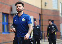 Blackburn Rovers' Derrick Williams arrives at the Memorial Stadium<br /> <br /> Photographer Ashley Crowden/CameraSport<br /> <br /> The EFL Sky Bet League One - Bristol Rovers v Blackburn Rovers - Saturday 14th April 2018 - Memorial Stadium - Bristol<br /> <br /> World Copyright &copy; 2018 CameraSport. All rights reserved. 43 Linden Ave. Countesthorpe. Leicester. England. LE8 5PG - Tel: +44 (0) 116 277 4147 - admin@camerasport.com - www.camerasport.com