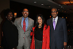 The Greater Harlem Chamber of Commerce's Vice President for Programs Patricia Ricketts,  Harlem Community Development Corporation's President Curtis L. Archer, Esq., Nina Flowers and NY City Planning Commission's Vice Chairman Kenneth Knuckles