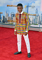 Abraham Attah at the world premiere for &quot;Spider-Man: Homecoming&quot; at the TCL Chinese Theatre, Los Angeles, USA 28 June  2017<br /> Picture: Paul Smith/Featureflash/SilverHub 0208 004 5359 sales@silverhubmedia.com