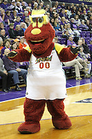 Feb 06, 2015:  Seattle Storm mascot Doppler was on hand to entertain fans during the game between Oregon State and Washington.  Washington defeated Oregon State 76-67 at Alaska Airlines Arena in Seattle, WA.
