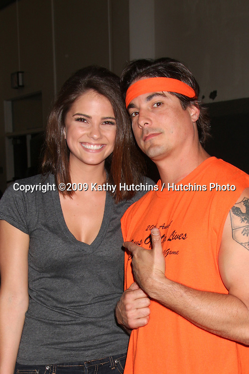 Shelley Hennig & Bryan Dattilo at the 20th James Reynolds Days of Our Lives Basketball Game at South Pasadena High School in Pasadena, CA on May 29, 2009 .©2009 Kathy Hutchins / Hutchins Photo..
