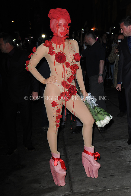 WWW.ACEPIXS.COM <br /> March 28, 2014 New York City<br /> <br /> Lady Gaga arriving on her Birthday to the Roseland Ballroom in Manhattan on March 28, 2014 in New York City.<br /> <br /> Please byline: Kristin Callahan  <br /> <br /> ACEPIXS.COM<br /> Ace Pictures, Inc<br /> tel: (212) 243 8787 or (646) 769 0430<br /> e-mail: info@acepixs.com<br /> web: http://www.acepixs.com