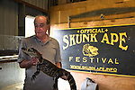 The Skunk Ape Research Center houses alligators & other reptiles