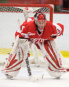 Melissa Haber (BU - 33) - The Northeastern University Huskies defeated the Boston University Terriers in a shootout after being tied at 4 following overtime in their Beanpot semi-final game on Tuesday, February 2, 2010 at the Bright Hockey Center in Cambridge, Massachusetts.