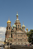 The Church of the Savior on Spilled Blood , St. Petersburg, Russia