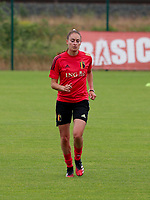 20200605 - TUBIZE , Belgium : Tessa Wullaert pictured during a training session of the Belgian national women's soccer team called the Red Flames during their after Corona – Covid training week, on the 5 th of June 2020 in Tubize.  PHOTO SEVIL OKTEM| SPORTPIX.BE