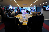 United States President Donald J. Trump attends a teleconference with governors at the Federal Emergency Management Agency headquarters, Thursday, March 19, 2020, in Washington, DC.<br /> Credit: Evan Vucci / Pool via CNP/AdMedia