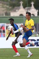 Iago of S C Internacional and Brazil in action during France Under-18 vs Brazil Under-20, Tournoi Maurice Revello Football at Stade d'Honneur Marcel Roustan on 5th June 2019