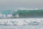 Kite surfing at Waddell Beach
