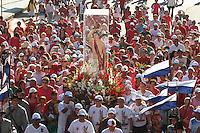 RIO DE JANEIRO, RJ, 20.01.2014 - PROCISSÃO DO DIA DE SÃO SEBASTIÃO PADROEIRO DO RJ - O arcebispo e Futuro cardeal D. Orani Tempesta e o Prefeito do Rio de Janeiro participam da procissão em homenagem a São Sebastião padroeiro da cidade do Rio de Janeiro que vai da igreja dos Capuchinhos até a catedral metropolitana do Rio de Janeiro nessa segunda, 20. (Foto: Levy Ribeiro / Brazil Photo Press)