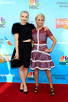 LOS ANGELES - JUN 9:  Dove Cameron, Kristin Chenoweth at the NBC's 'Hairspray Live!' FYC Event at the ATAS Saban Media Center on June 9, 2017 in North Hollywood, CA