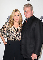 BEVERLY HILLS, CA - August 7: Mary McCormack, Michael Cudlitz, at Disney ABC Television Hosts TCA Summer Press Tour at The Beverly Hilton Hotel in Beverly Hills, California on August 7, 2018. <br /> CAP/MPI/FS<br /> &copy;FS/MPI/Capital Pictures