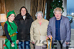 Holly Ring, Mary O'Sullivan, Dolly O'Sullivan and John Lyne at the Young at heart Christmas lunch in the Killarney Oaks Hotel on Sunday