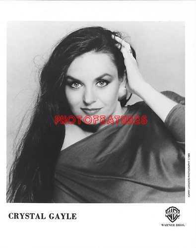 Crystal Gayle..photo from promoarchive.com/ Photofeatures....