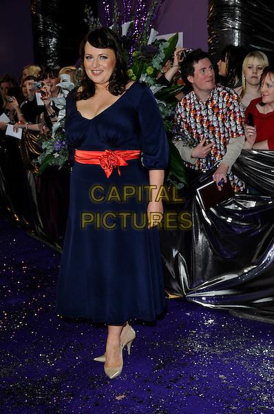 WANDA OPALINSKA.Coronation Street.British Soap Awards 2008.BBC Wood Lane.3rd May 2008.full length black dress.CAP/CAN.© Can Nguyen/Capital Pictures