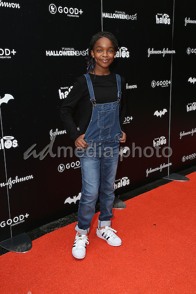 30 October 2016 - Hollywood, California -Marsai Martin. GOOD+ Foundation 1st Annual Halloween Bash held at Sunset Gower Studios. Photo Credit: PMA/AdMedia