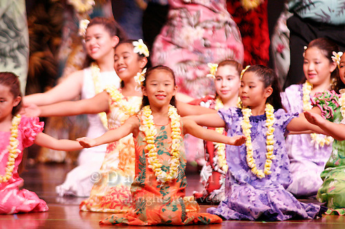 July 23, 2006; Torrance, CA, USA;  Members of hula halau Keali'i 'O Nalani perform at their annual hoike held at the Marsee Auditorium at El Camino College.&amp;#xA;&amp;#xA;Photo credit: Darrell Miho<br />