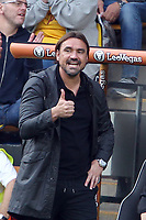 Norwich City manager Daniel Farke seems happy with the score during Norwich City vs Middlesbrough, Sky Bet EFL Championship Football at Carrow Road on 15th September 2018