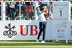 Brett Rumford of Australia tees off the first hole during the 58th UBS Hong Kong Golf Open as part of the European Tour on 10 December 2016, at the Hong Kong Golf Club, Fanling, Hong Kong, China. Photo by Marcio Rodrigo Machado / Power Sport Images