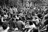 Manhattan, New York City, NY. April, 1975. <br />