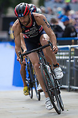 June 11th 2017, Leeds, Yorkshire, England; ITU World Triathlon Leeds 2017; Adam Bowden competes in the cycling phase around Leeds city centre