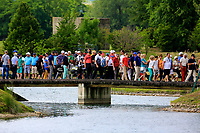 Spectators during the third round of the Lyoness Open powered by Organic+ played at Diamond Country Club, Atzenbrugg, Austria. 8-11 June 2017.<br /> 10/06/2017.<br /> Picture: Golffile | Phil Inglis<br /> <br /> <br /> All photo usage must carry mandatory copyright credit (&copy; Golffile | Phil Inglis)