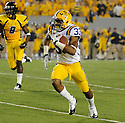 ODELL BECKHAM, of the LSU Tigers, in action during LSU's game against West Virginia on September 24, 2011 at Mountaineer Field at Milan Puskar Stadium in Morgantown, WV. LSU beat West Virginia 47-21.