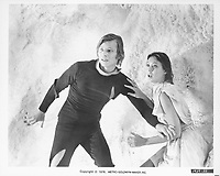 Logan's Run (1976) <br /> Michael York &amp; Jenny Agutter<br /> *Filmstill - Editorial Use Only*<br /> CAP/KFS<br /> Image supplied by Capital Pictures