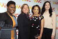NEW YORK, NY - NOVEMBER 01:Danielle Brooks, Cindy Holland, Selenis Leyva, and Laura Prepon attend the 2018 Women's Media Awards at Capitale on November 1, 2018 in New York City.a attends the 2018 Women's Media Awards at Capitale on November 1, 2018 in New York City.  <br /> CAP/MPI/JP<br /> &copy;JP/MPI/Capital Pictures