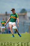 David Clifford Kerry in action against  Clare in the Munster Minor Football Final at Fitzgerald Stadium on Sunday.